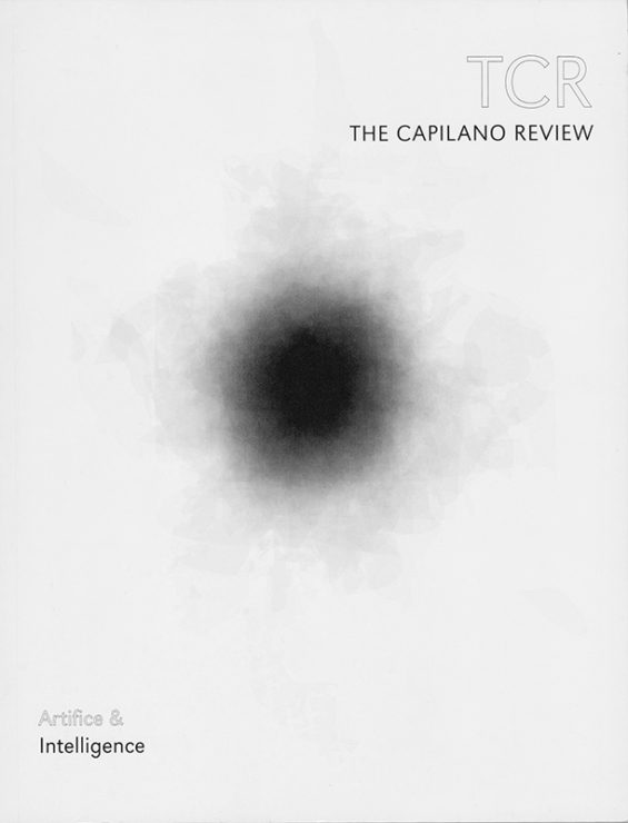 Antonia Hirsch The Capilano Review: Artifice & Intelligence