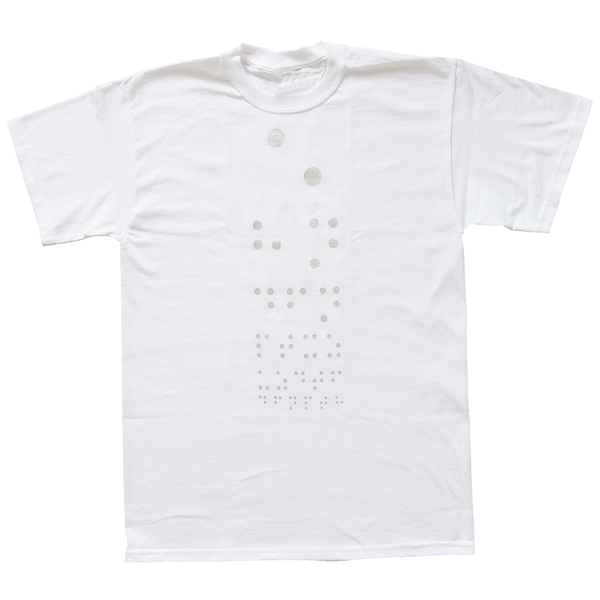 Antonia Hirsch Double Blind T-Shirt (white)